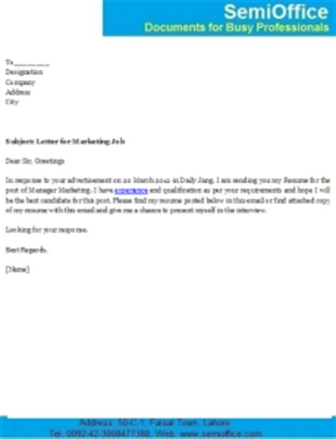 Tips on writing cover letter for job
